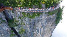 Glass Skywalk Trail, China
