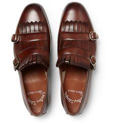 Monk-strap shoes - Santoni