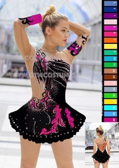 Masterclass Costume Design - MADE IN RUSSIA. Product Info: ● Production made to measure ● Dress / suit including all rhinestones ● All color combinations possible ● Making for groups possible ● Color, design, skirt - all changes cost + € 9.99 each ● The change of a dress for a suit with
