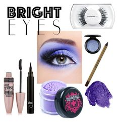 """""""Bright eyes #3"""" by leafashionpro ❤ liked on Polyvore featuring beauty, Maybelline, Sugarpill, Obsessive Compulsive Cosmetics, MAC Cosmetics, Max Factor and brighteyes"""