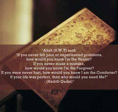 Allah knows but you do not know