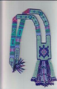 Delilah's Joy - Split loom necklace