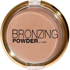 H&M Bronzing powder ($2.60) ❤ liked on Polyvore featuring beauty products, makeup, cheek makeup, cheek bronzer, beauty, bronzer, faces, maquillaje and fillers