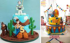 Gâteau inspiré par Toy Story ou bien le cirque