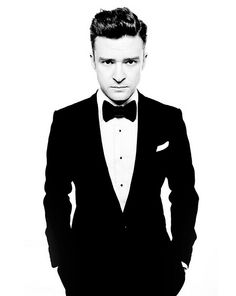 Justin Timberlake Suit and Tie Promo