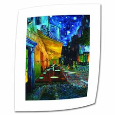 ArtWall Vincent van Gogh 'The Cafe Terrace on The Place Du Forum' Flat