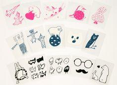 AIUEO makie sticker|かわいい雑貨のことならAIUEO