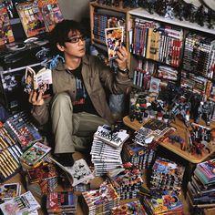 TadaoShiraki (I want the collection he has here) http://www.wired.com/rawfile/2012/03/otaku-spaces-shows-off-collectors-riches/?pid=2021#