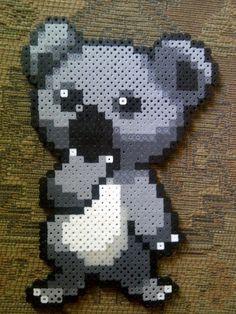 Bildergebnis für perler beads koala