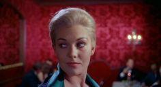 The spell is cast….Kim Novak in Vertigo (Alfred Hitchock, 1958)Cinematography by Robert Burks