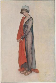 Carl Larsson, vrouwenportret 1900 by janwillemsen, via Flickr
