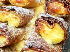 French Toast, Breakfast, Food, Cheese Blintzes, Desserts, Morning Coffee, Meal, Essen, Hoods