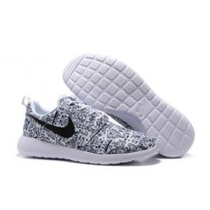 Nike Roshe One Print Premium White Black on We Heart It Latest Sneakers, Sneakers For Sale, Latest Shoes, Nike Fashion, Fashion Shoes, Womens Fashion, Nike Clearance Store, Yeezy 350 Shoes, All White Shoes