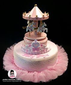 Carousel Music Box Design Fomdant Cake Fondant Pinterest