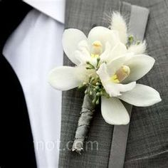 Image detail for -... with soft tufts of willow and wrapped with a sleek grey ribbon