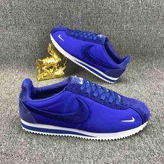 Nike Shoes OFF! Nike Cortez Mens, Nike Cortez Shoes, Nike Shoes Outfits, Nike Free Shoes, Ankle Sneakers, Sneakers Nike, Jordan Heels, Comfortable Mens Dress Shoes, Nike Classic Cortez Leather