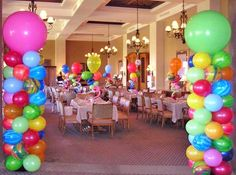 SAME DAY FLOWER DELIVERY SANTA CLARITA, CASTAIC, STEVENSON RANCH, VALENCIA, NEWHALL, SAUGUS, CANYON COUNTRY, CA - Balloon Columns and Arches