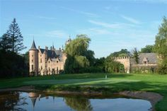 Cleydael Castle Belgium, Golf Courses, Castle, Club, Mansions, Country, House Styles, Manor Houses, Rural Area
