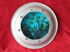 summer crafts for kids | Quick and Easy Summer Crafts: Paper Plate Porthole