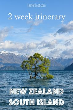 As a couple, my husband and I always want to return to New Zealand. This busy New Zealand South Island 2 week itinerary will help you plan your trip. #travel #newzealand #coupletravel #nz #roadtrip