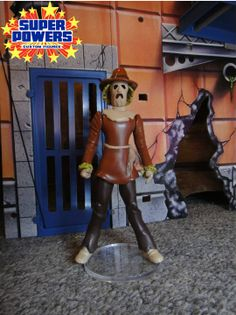 Scarecrow by Javier Garcia Dc Action Figures, Comics Toons, Pre Production, Comic Movies, Super Heros, Old Toys, Super Powers, Growing Up, Imagination