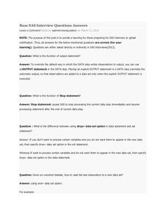 base sas interview questions answers leave a commentposted by sasinterviewsquestion on march 11 2012 note