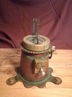 PINCEL Y MASILLA: Brújula Steampunk se sobremesa para Airship – y 4