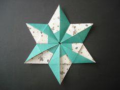 Modular wreath by CARLA ONISHI : Parati.  Photo diagrams.