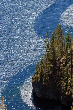Wind Streams - Crater Lake National Park, Oregon