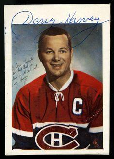 GLOSSY CARD SIZED AUTOGRAPHED BY DOUG HARVEY~MONTREAL CANADIENS (1960-61) Hockey Goalie, Hockey Players, Ice Hockey, Boston Bruins Hockey, Chicago Blackhawks, Montreal Canadiens, Flyers Stanley Cup, Hockey Room, Hockey Girls