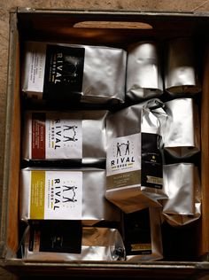 30 Creative Coffee Packages - The Dieline - Rival Bros