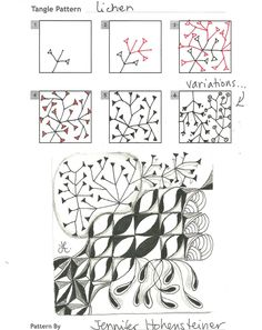 How to draw LICHEN « TanglePatterns.com