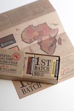 FIRST BATCH CHOCOLATE by Jane Says, via Behance