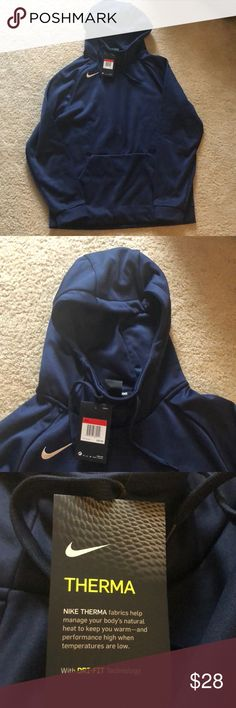 ebdca88ece15 Blue Nike sweatshirt with tags! Brand new Nike sweatshirt. Very  comfortable. Nike Shirts