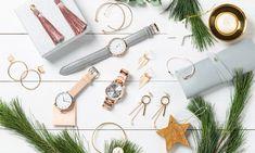świąteczne dodatki, bling bling, złote zegarki, moda, kolczyki, akcesoria damskie Bling, Watches, Accessories, Jewel, Wristwatches, Clocks, Jewelry Accessories