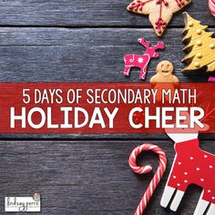 The week of December 12 - 16th will be filled with giveaways, free resources and special deals. The daily emails will be sure to bring cheer to you and your students!