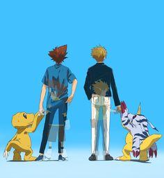 Ghibli, Fanart, Anime Manga, Anime Art, Arte Final Fantasy, Digimon Wallpaper, Digimon Adventure 02, Digimon Digital Monsters, Cartoon Games