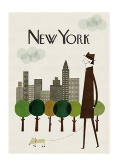NY print