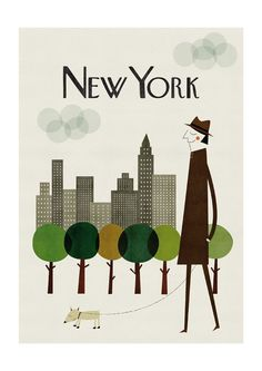 New York Print from Blanca Gomez