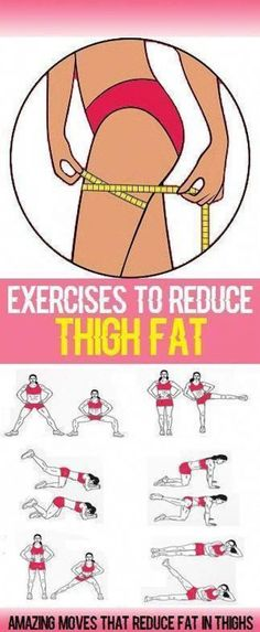 Inner-thigh fat can be hard to target and is often overlooked in a typical workout routine. However by including the following 8 exercises in your workout plan you will see noticeable changes to your thighs in a matter of weeks and finally get that nice thigh gap! 1. Inner-Thigh Blasters The clue is in the #fitness #reduceweight