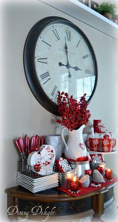 A beautiful Valentine's vignette