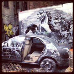 Banksy in NYC #art #banksy