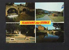 FLASSANS-sue-ISSOLE (83) MOULIN à EAU , CAMPING , MONUMENT aux MORTS , PONT in Collections, Cartes postales, France: Provence, Côte-d'Azur | eBay