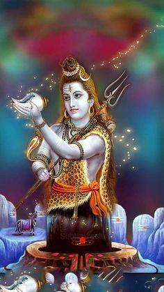 ॐ- Om Namah Shivaya -ॐ Krishna Hindu, Mahakal Shiva, Shiva Statue, Shiva Art, Lord Krishna, Lord Shiva Hd Images, Shiva Lord Wallpapers, Krishna Images, Happy Navratri Images