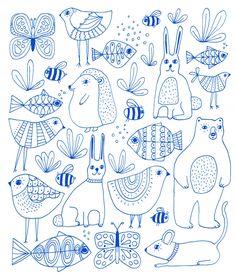 Lisa Congdon - animals_800