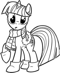 Coloriage My Little Pony #mylittlepony #coloriage #printablefree