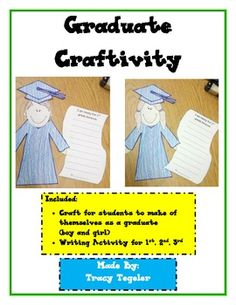 This is an end of the year activity for students going into 1st, 2nd, or 3rd grade.  The students can create themselves and then write why they are... $2