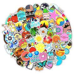 Planner Stickers Funny Kawaii Sticker Cute Girls Stickers Custom Stickers Laptop Stickers 100pcs Vinyl Stickers Sticker Pack