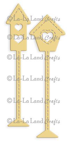 Tall Birdhouses Die (Set of 2)