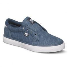 DC Shoes Council Slip TX SE Boys chaussures junior blue white 59,00 € #